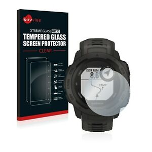 Tempered Glass Screen Protector for Garmin Instinct Solar Protection Clear 9H