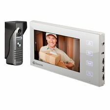 Swann Dp885c Expandable Intercom & Video Doorphone With 7 Inch LCD Monitor 2017