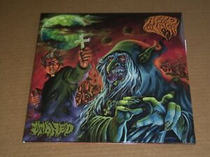 ACID WITCH -STONED- AWESOME MEGA RARE COLOR VINYL DEATH METAL UNPLAYED