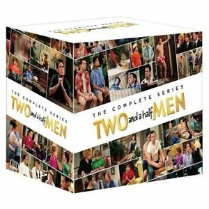TWO AND A HALF MEN COMPLETE COLLECTION SERIES 1-12 DVD BOXSET 39 DISC R4 NEW