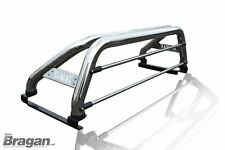 To Fit 12-16 Isuzu D-Max Rodeo Roll Bar + Red LEDs + LED Brake + Tonneau Cover