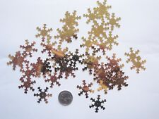 Table Scatters Foil Confetti Snowflakes - Dark Gold BUY 1 GET 1 FREE