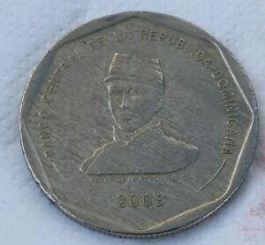 25 Peso 2008 Dominican Repúblic