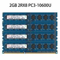 New 2GB 2Rx8 PC3-10600U DDR3 1333MHZ 240Pin Intel DIMM Desktop Memory RAM