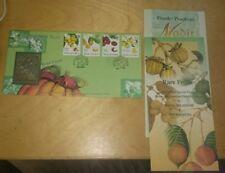 1998 Royal Selangor Pewter Premier  Stamp FDC Rare Fruits Buah Nadir