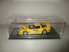 CHEVROLET CORVETTE C5-R N.63 O'CONNEL-FELLOWS-GAVIN LEMANS 2002 MINICHAMPS 1:43