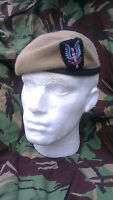 SAS Special Air Service Beret and Cap Badge Size 59 Officer Quality