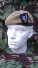 SAS Special Air Service Beret and Cap Badge Size 60 Officer Quality