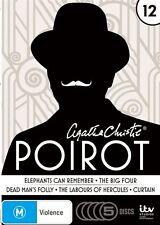 Agatha Christie - Poirot : Season 13 (DVD, 2014, 5-Disc Set) R4 (D113)(D153/D175
