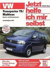 VW TRANSPORTER T5 MULTIVAN JETZT HELFE ICH MIR SELBST 237 REPARATURANLEITUNG