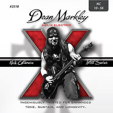 Dean Markley 2518 Helix HD Electric Guitar Strings 10-56 Nick Catanese