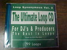 Loop Synonymous Vol. 2.  The Ultimate Loop CD. For DJ's & Producers.  4DJ's.