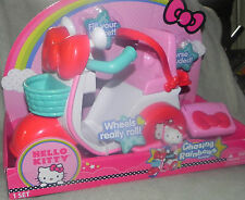 "New Hello Kitty Chasing Rainbows Scooter - Push Toy For 12"" Dolls -"
