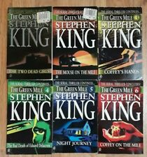 Stephen King The Green Mile 1 2 3 4 5 6 books lot 1996 paperback complete