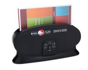 Rhin-O-Tuff New Thermal Binding Machine 500  Dual Heat Thermal Binder