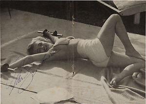 MARILYN MONROE Signed 'Exercise' Photograph - Film Actress - preprint
