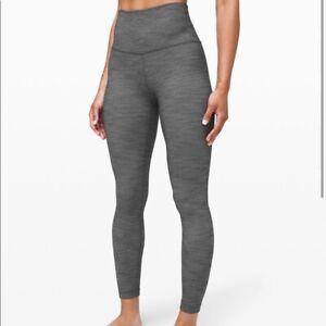 NWT Lululemon Align High-rise pant legging nulu gray grey heathered size 8