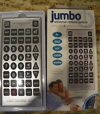 INNOVAGE Jumbo Universal Remote, Box & Instructions 2 AA Batteries not Included