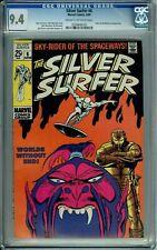 SILVER SURFER 6 CGC 9.4 RARE STAN LEE JOHN BUSCEMA Silver Age MARVEL COMICS 1969