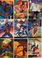 1995 MARVEL FLEER ULTRA SPIDER-MAN PREMEIRE COMPLETE 150 CARD SET nm/MINT