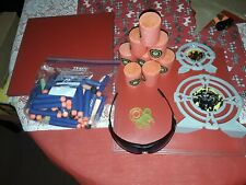 JOB LOT COLLECTION OF NERF TARGETS BULLETS SUNGLASSES