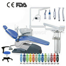 Tj2688 A1 Dental Unit Chair Hard Leather Dc Motordoctor Stoolhandpiece Kit M4