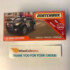 '12 Ford Explorer * 2019 Matchbox POWER GRABS Case D * WG17