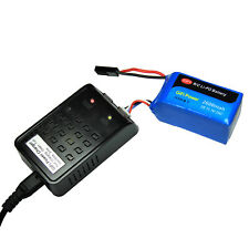 Refuelergy 2600mAh High Capacity Battery & Charger For PARROT AR.DRONE 2.0 & 1.0