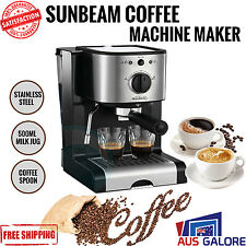 Sunbeam EM2800 Compact Design Piccolo Espresso Cappuccino Coffee Maker Machine
