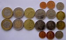 MALAWI 1995-2006 SERIE 9 MONETE CON 2 BIMETALLICHE 10-5-1 KWACHA 50-20-10-5-2-1T