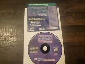 Sony PlayStation 1 PS1 Cheats and Codes Volume 1