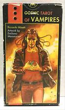 Gothic Tarot Of Vampire Cards Riccardo Minetti Emiliano Mammucari Mint Set