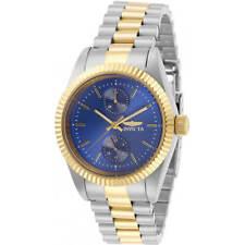 Invicta Women's Watch Specialty Quartz Blue Dial Two Tone Steel Bracelet 29441