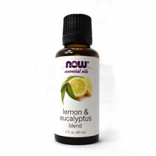 5 PACK: NOW Foods Lemon and Eucalyptus Blend - 1 FL oz @