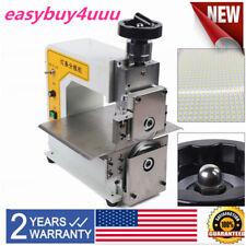 V Cut Groove Pcb Separating Separator Cutting Machine Sub Board Machine 110V Usa