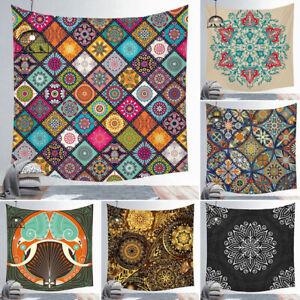 Indian Tapestry Wall Hanging Mandala Hippie Gypsy Bedspread Throw Bohemian Post⭐