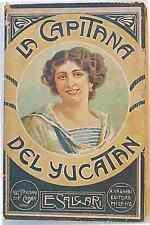 La capitana del Yucatan. SALGARI 1928 (con 20 tavole di G. Gamba)