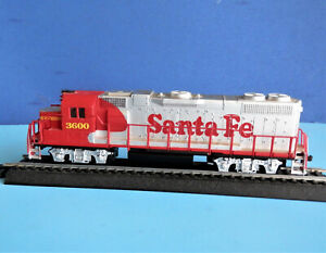 Life Like HO Scale Santa Fe#3600 Weighted Dummy Locomotive, not powered.