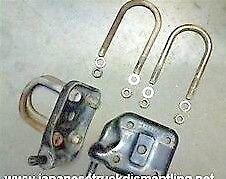 1995-04 Toyota Tacoma Spring U-Bolts And Seat Plates Tacoma With 5 Lugs Wheel