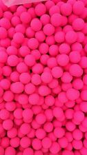 Fluoro 10mm Bright Pink Krill Fluoro's Carp Fishing Bait Pop Ups