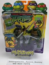 2004 Teenage Mutant Ninja Turtles Mutations Donatello & Leonardo MOSC TMNT