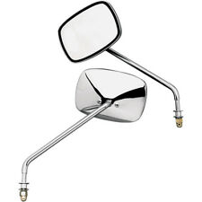 Pair of Stock Style Long Stem Mirrors for Harley-Davidson