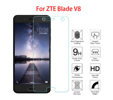 100% Genuine Tempered Glass Screen Protector Clear For ZTE Blade V8 Mobile Phone