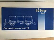 HÜBNER 20501 Behältertragwagen Lbs 578 Spur 1