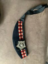 Post Wwii? argyll And Sutherlands Glengarry Cap Canadian Highlanders