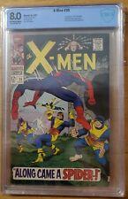 X-men 35 CBCS 8.0 First Changeling Spider-Man