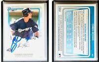 Chris Dennis Signed 2011 Bowman Prospects #BP2 Card Milwaukee Brewers Autograph