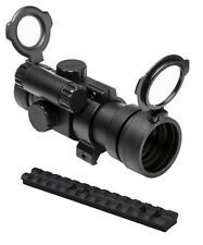 NcStar Tactical 30mm Red Dot Scope w/ Rail Mount Fits Ruger 22 10/22 Rifles