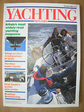 YACHTING MONTHLY MAGAZINE OCTOBER 1988 No 986