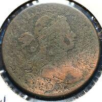 1803 1C Draped Bust Cent (54793) S-244, R-4